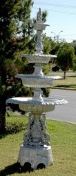 4 Tier New Swan Fountain with Arches