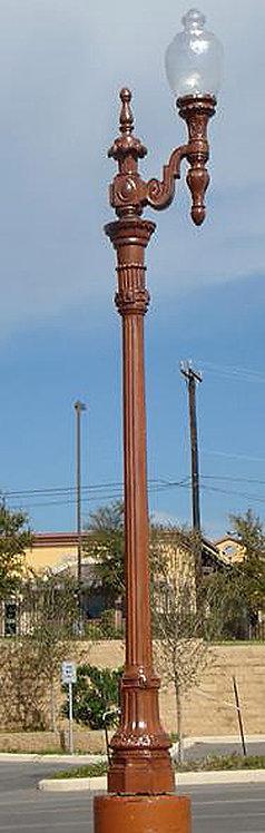 El Paso Lamp 1 Arm-H:16'