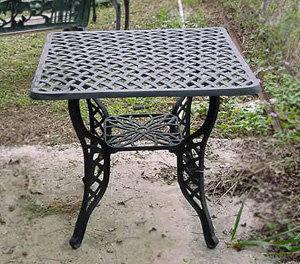 """Crossweave Table, Small Square-32""""x32"""""""