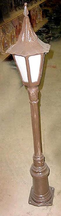 """Tipton Walkway Lamp  Ht 48.5""""  6"""" Sq Base"""