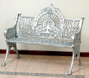 """New Federal Bench-H:38""""L:46"""""""