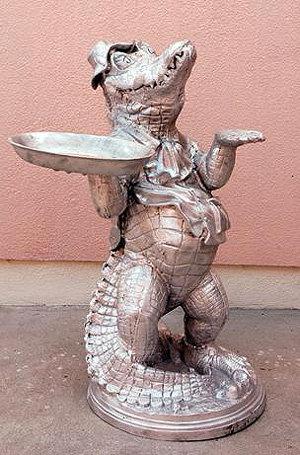 Standing Gator