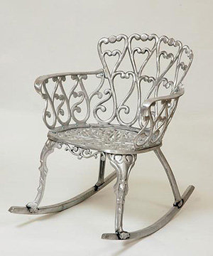 Hearts Rocking Chair