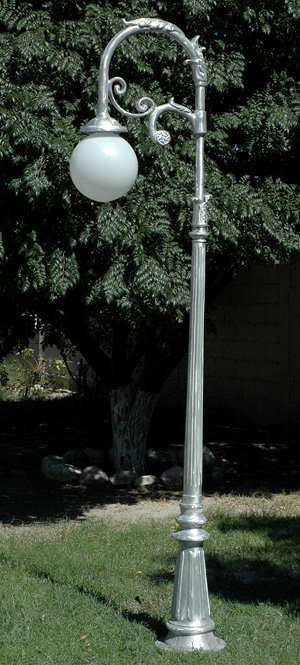 Vienna Lamp with French 1 Arm-H:9'