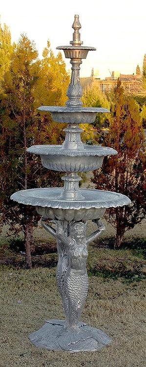 """4 Tier Mermaid Fountain-H.98"""""""