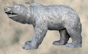 Small Cast Iron Canyon Bear