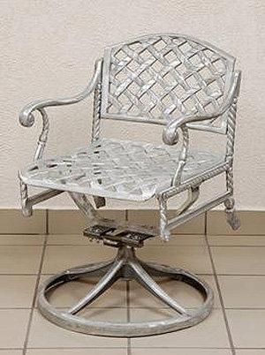 Virginia Swivel Chair H.36'' W.21'' D.18.5''