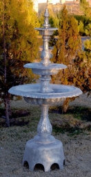 3 Tier Plain Fountain with Arches