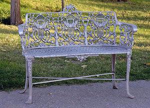 """Rose & Lyre Bench-L:40"""""""