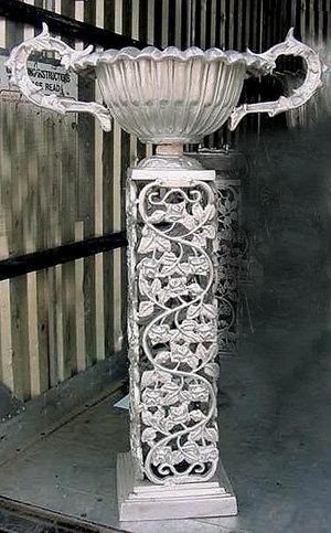 Trophy Urn with Leaf Base