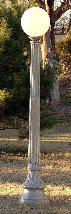 "St. Charles Lamp, Single-H:6'6"""