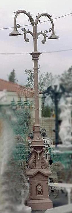"""Guadalajara Lamp, 2 Arm 2 Light-H:12'3"""""""