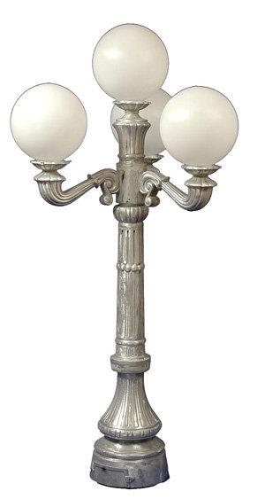 Victorian Walkway Lamp 3 Arm 4 Light