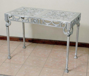 Dolphin Console Table, Double