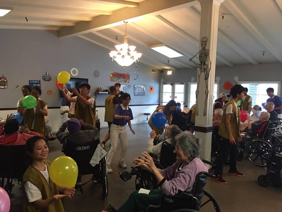 Senior Center Visit