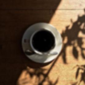 10月1日、コーヒーの日、快晴です。_本日もお待ちしております。_._#whit