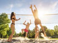 Unser Beachvolleyball - Platz