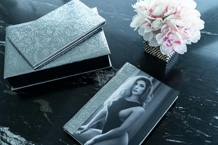 Luxury Miami Boudoir Photography Albums