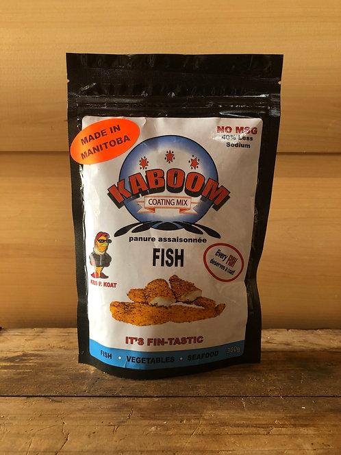Kaboom Coating Mix Fish No MSG