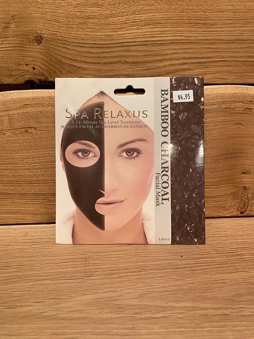 Bamboo Charcoal Mask- Relaxus