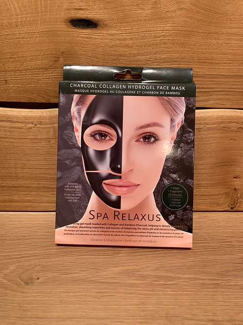 Charcoal Collagen  Mask