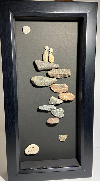 Pebble Art By Denise Our Journey
