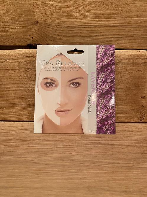 Lavender Facial Mask