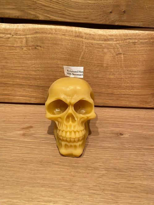 Richmond Beeswax Candles Skull