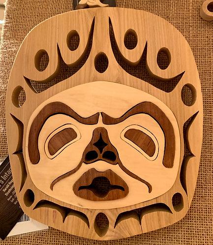 Harold's Intarsia Aboriginal Moon