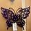 Thumbnail: Steel Art Silhouettes Butterfly 16�