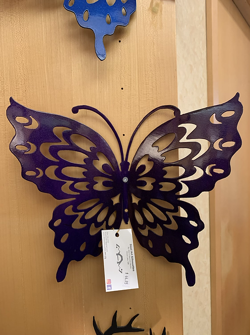 Steel Art Silhouettes Butterfly 16�