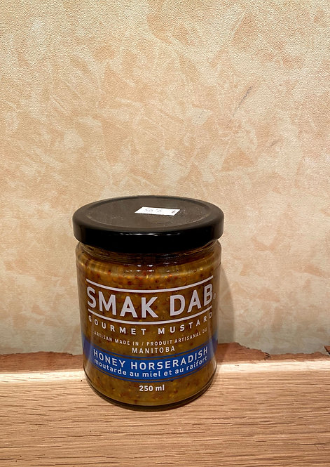 Smak Dab Mustard Honey Horseradish