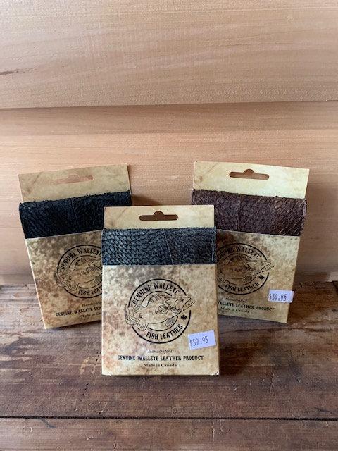 Genuine Walleye Wallet Natural