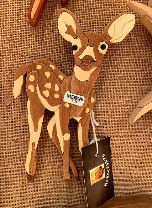 Harold's Intarsia Bambi