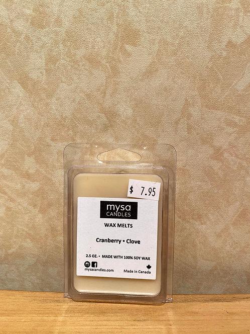 Mysa Wax Melts Cranberry Clove