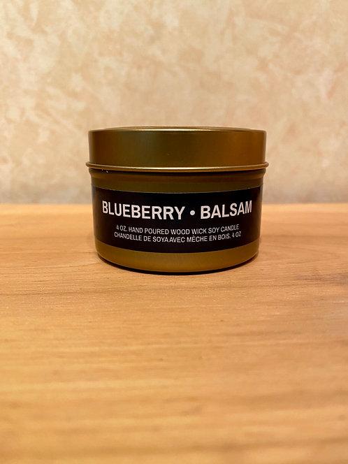 Mysa Blueberry Balsam Tin Candle