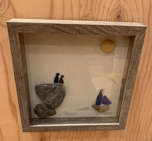 Pebble Art By Denise Sail Boat