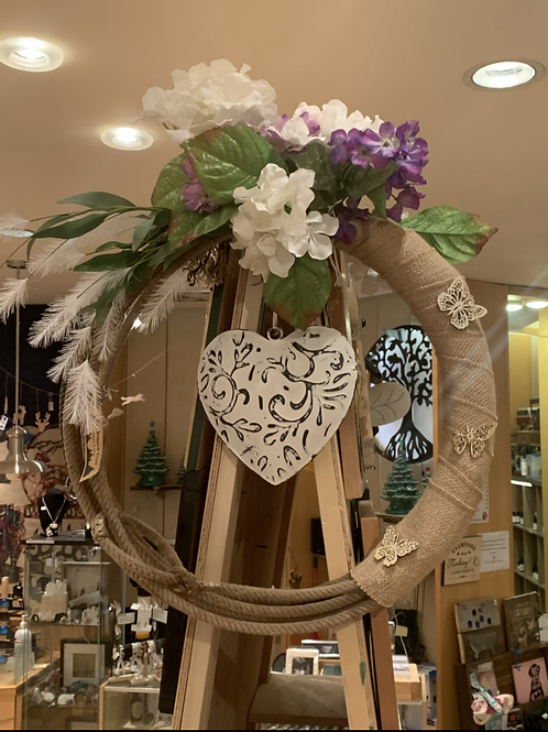 The Rugged Trail Lasso Wreath