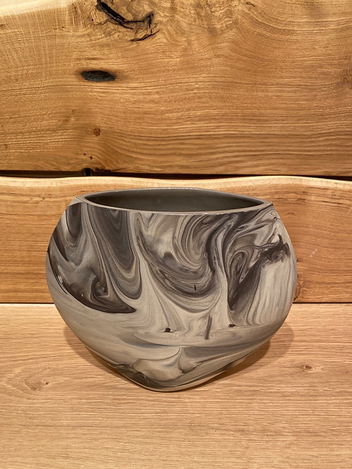 Rachael Kroeker Ceramics Large Marbled Vase