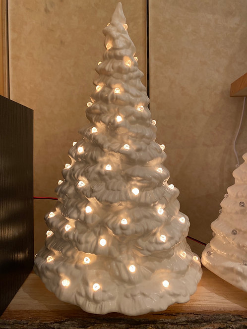 Medium White Slim Tree