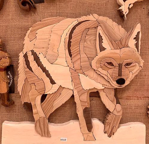 Harold's Intarsia Coyote