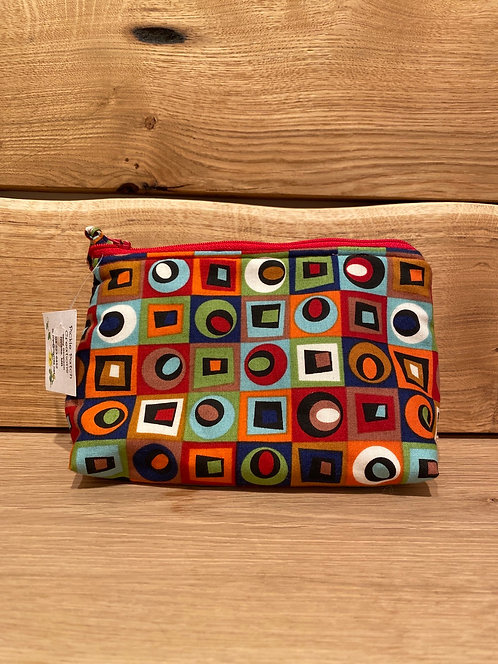 """Pickle Patch Zippered Pouches 7"""""""