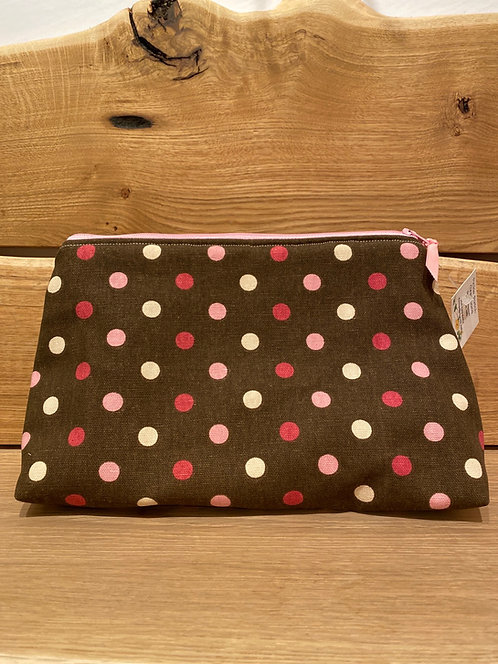 """Pickle Patch Zippered Pouches 10"""""""