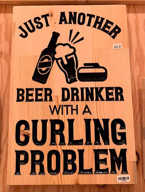 Two Old Farts Beer Curling Problem