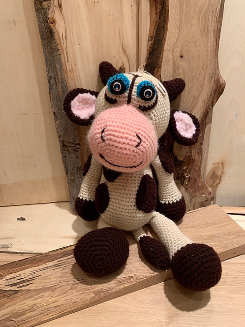 Baba Cow Crocheted