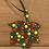 Thumbnail: Pegdots wood ornaments Maple Leaf