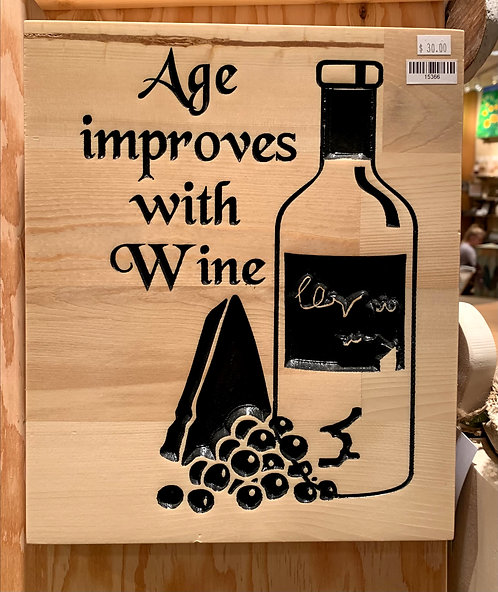 Two Old Farts Age Improves With Wine