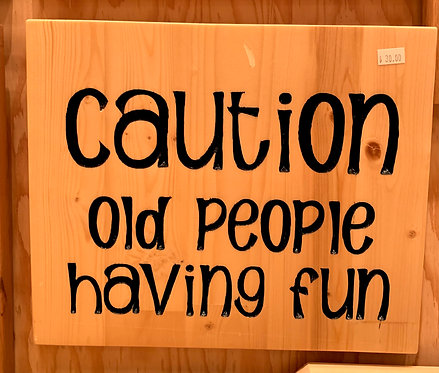 Two Old Farts Caution, Old People