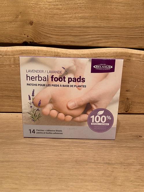 Lavender Herbal Foot Pads