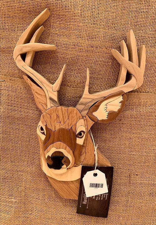 Harold's Intarsia Deer Head